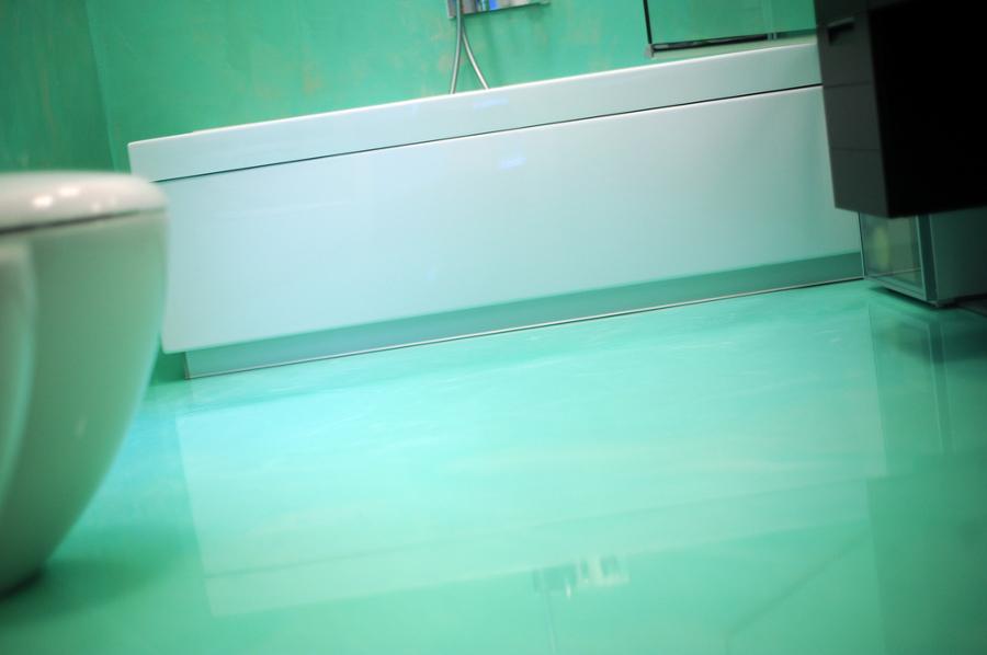 Bagni Moderni Verde Acqua : Pavimenti bagno in resina. pavimento bagno in decorativo with