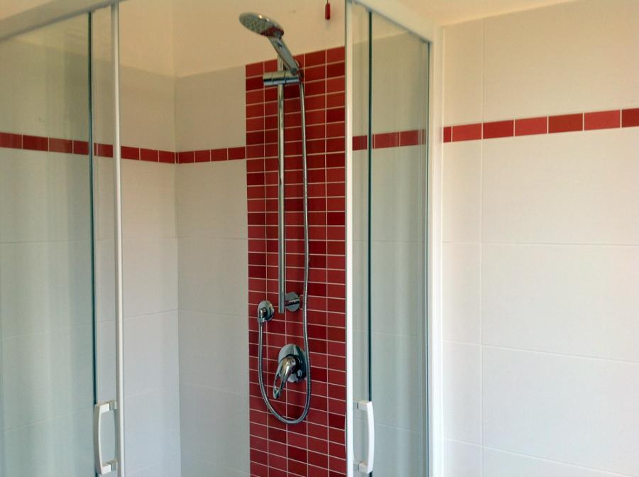 foto: bagno rosso di r.d.m srl #115312 - habitissimo - Bagni Moderni Rossi