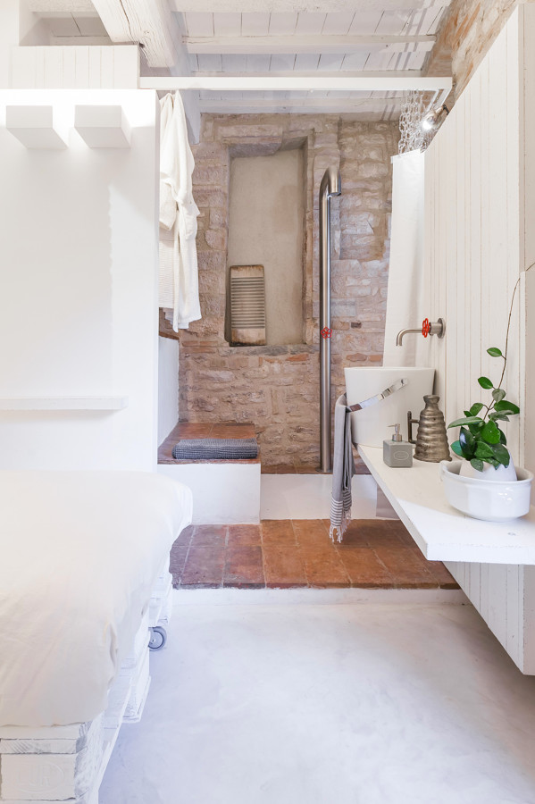 Foto bagno rustico chic di manuela occhetti 496390 - Bagno rustico foto ...