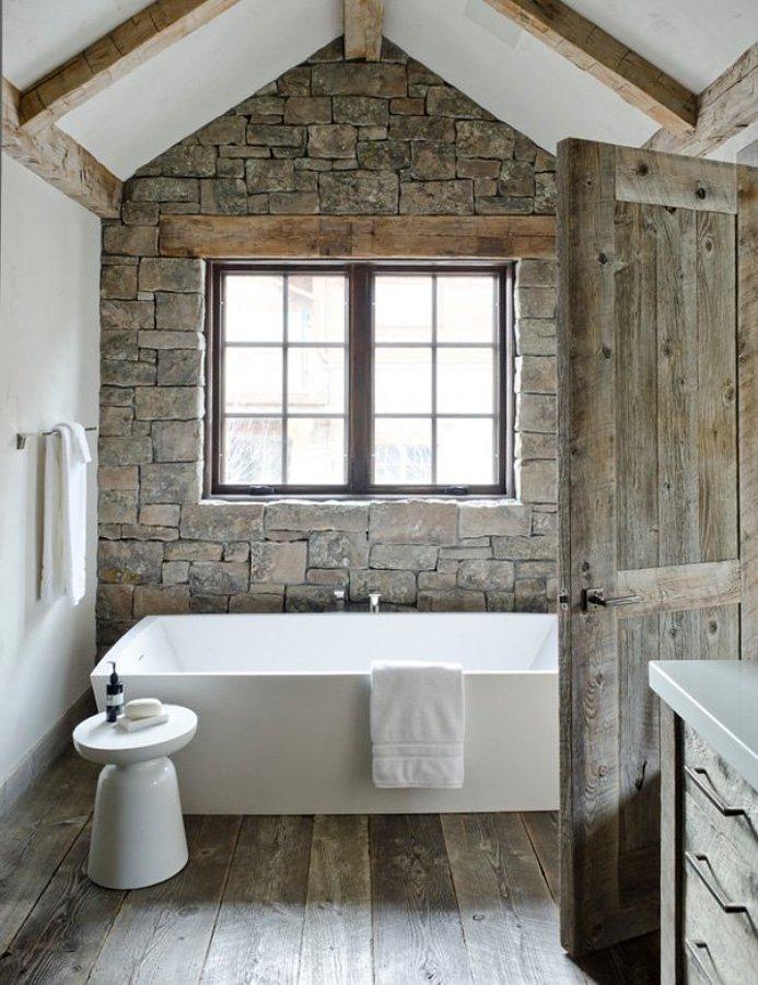 Bagni Rustici: Fascino Naturale In Casa | Idee Interior Designer
