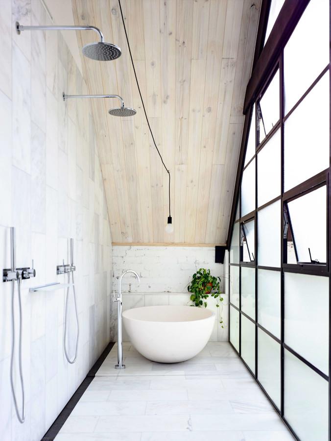 bagno stile industriale