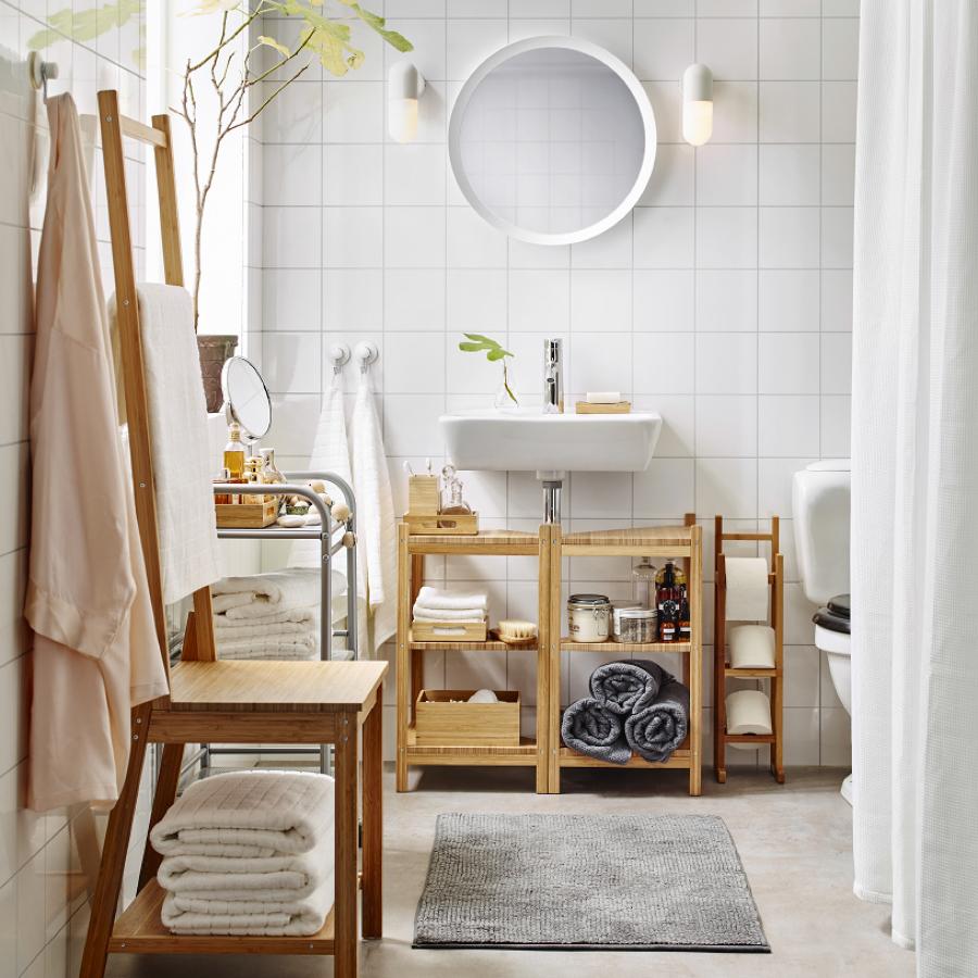 bagno stile nordico