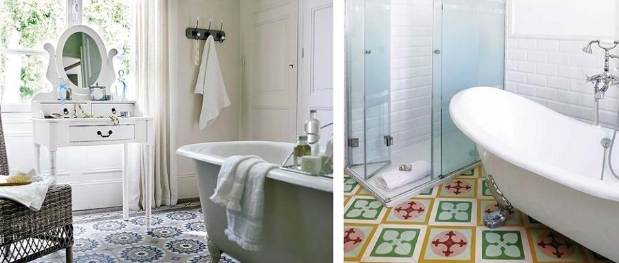 Concediti un bagno romantico e stacca dalla routine idee for Bagno in stile mediterraneo