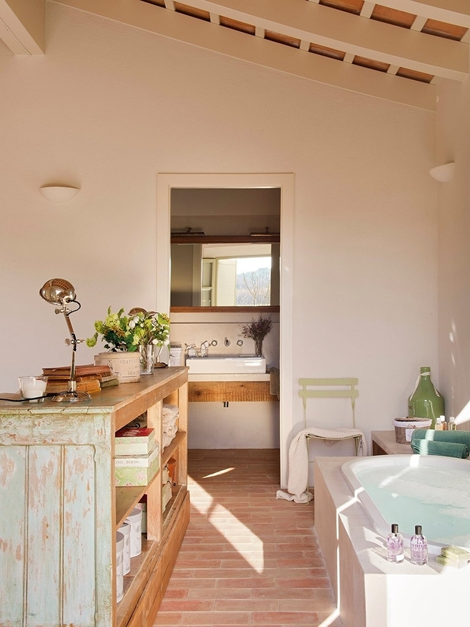 Foto bagno stile romantico di valeria del treste 278789 for Bagno romantico