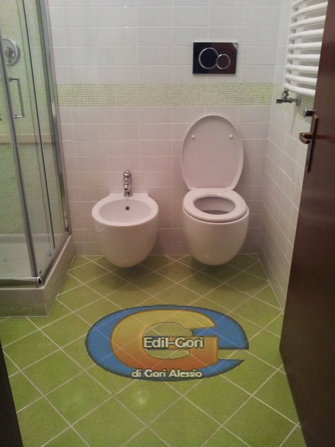 progetto bagno moderno con sanitari sospesi | idee ... - Bagni Moderni Con Sanitari Sospesi