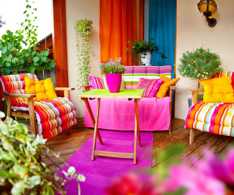 balcone colorful