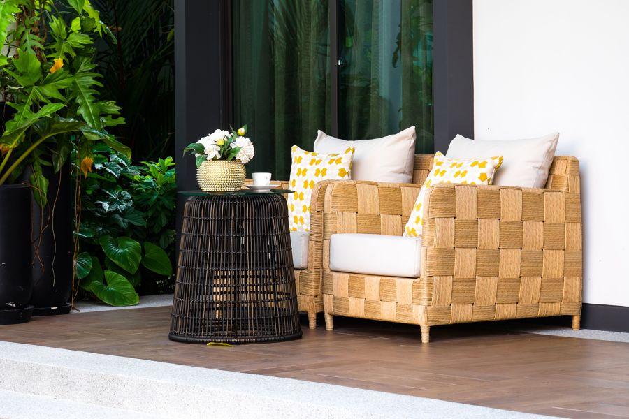 balcone stile tropical