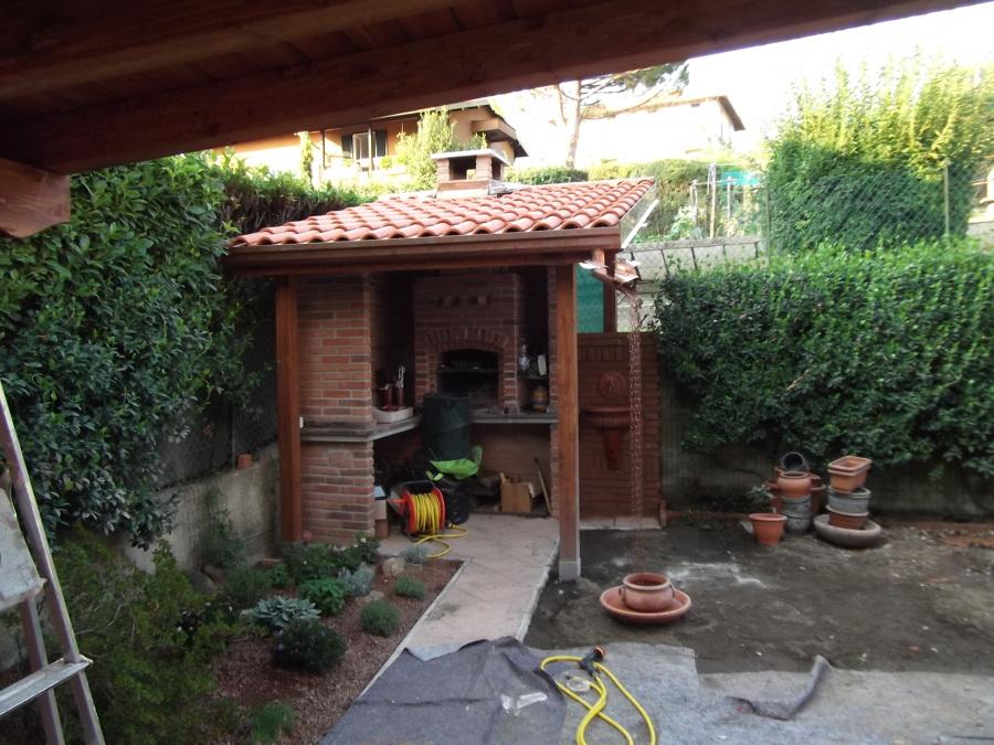 Barbecue in muratura idee ristrutturazione casa - Barbecue in casa ...