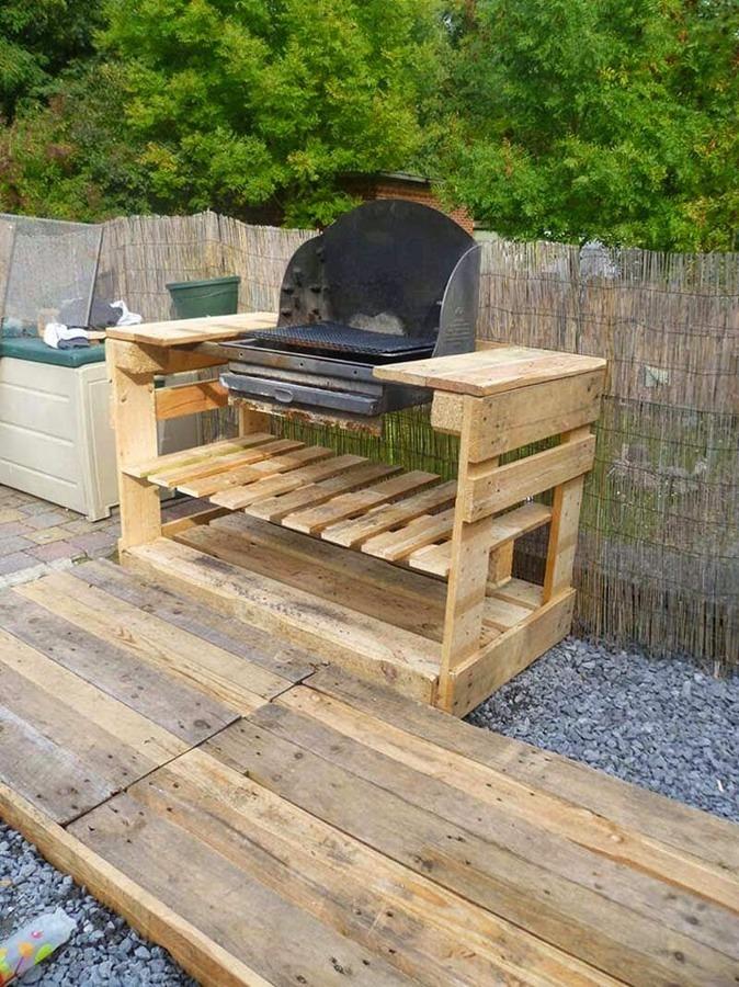 spesso Foto: Barbecue Pallet di Valeria Del Treste #329552 - Habitissimo SK84