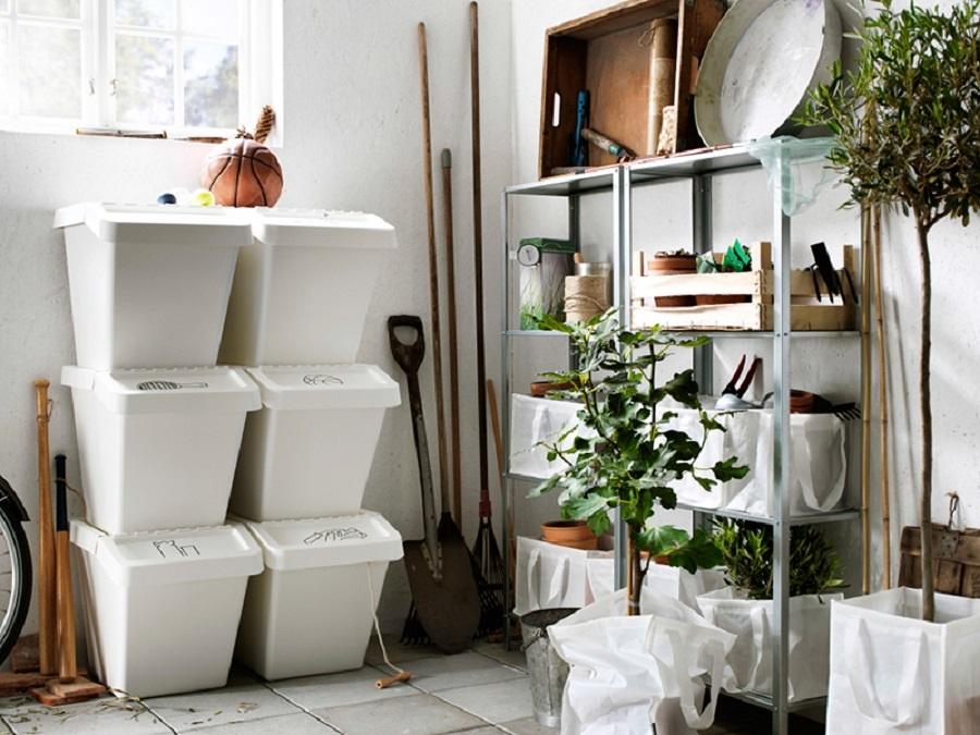 Necessaire per la casa 20 immancabili by ikea idee mobili for Ikea bidoni differenziata