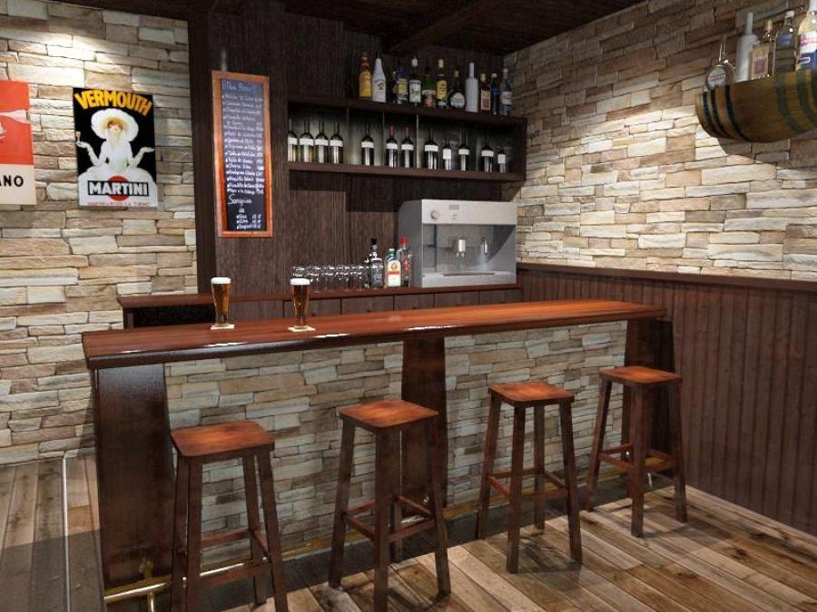 Come arredare una cantina in stile rustico idee interior for Bar en casa rustico