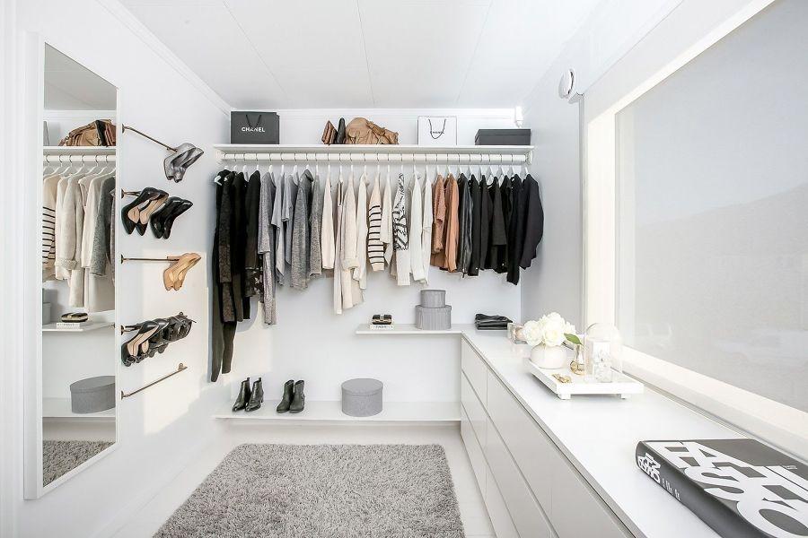 cabina armadio minimalista