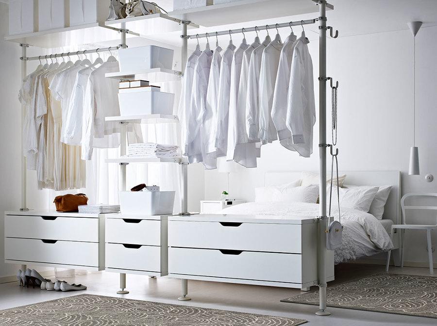 Cabina Armadio Tenda : Progetti di camera da letto con cabina armadio idee