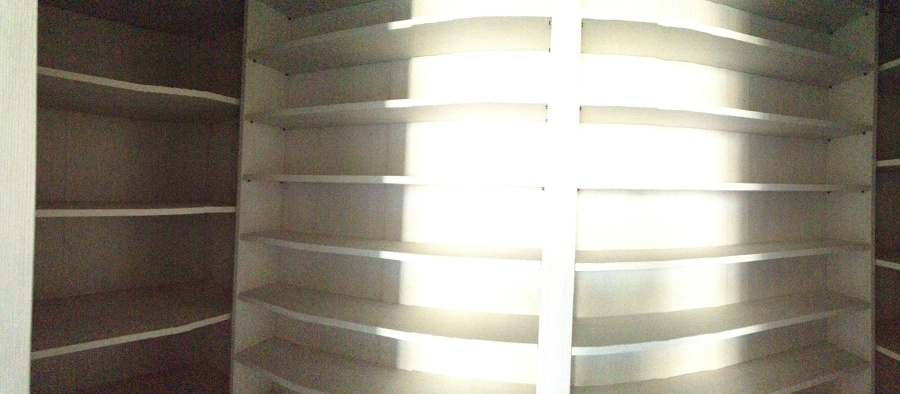 Foto cabina armadio scarpe ed accessori con fornitura di for Mobilia trieste