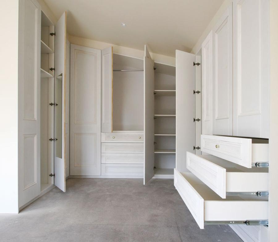 foto cabina armadio su misura di arredatrice di interni