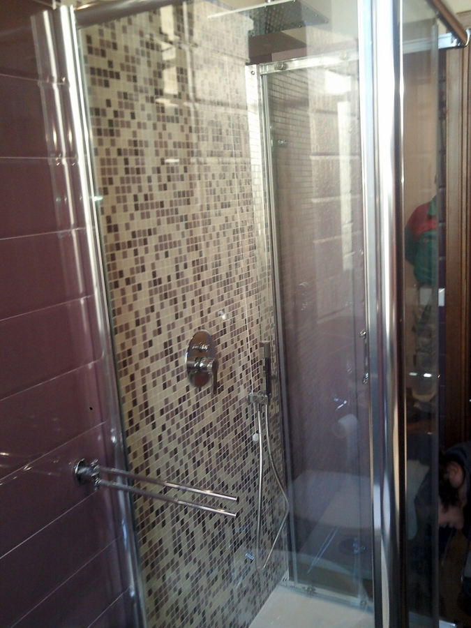 foto: cabina doccia in cristallo di ottima qualita' (all'interno ... - Bagni Moderni Con Box Doccia