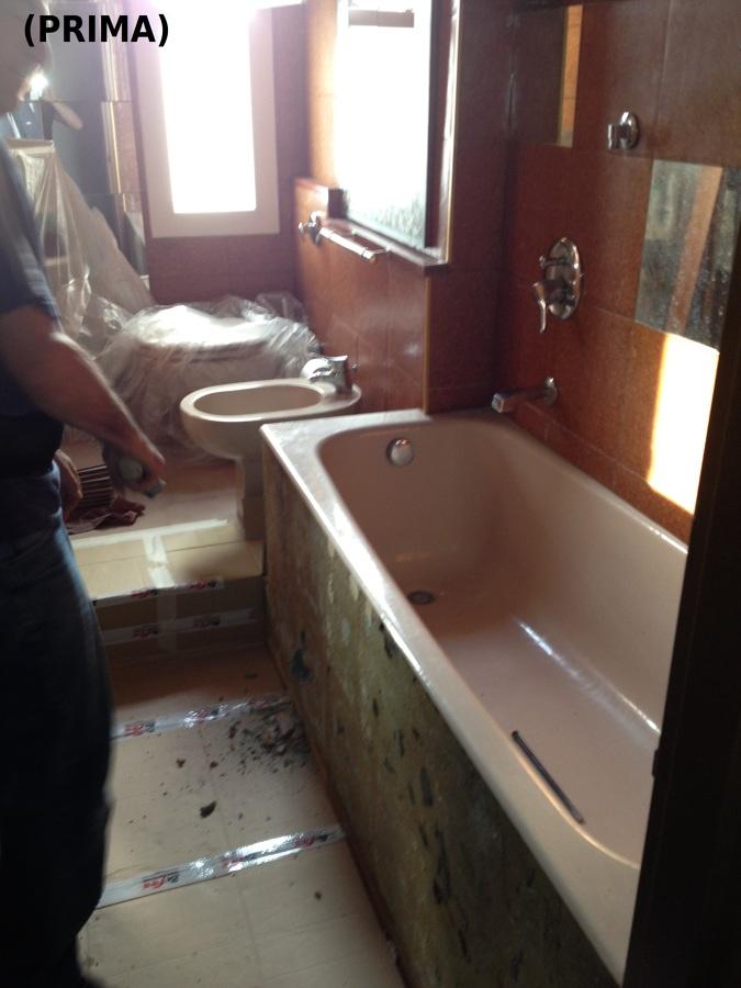 Progetto sostituzione vasca da bagno con una cabina doccia - Sostituzione vasca da bagno con doccia ...