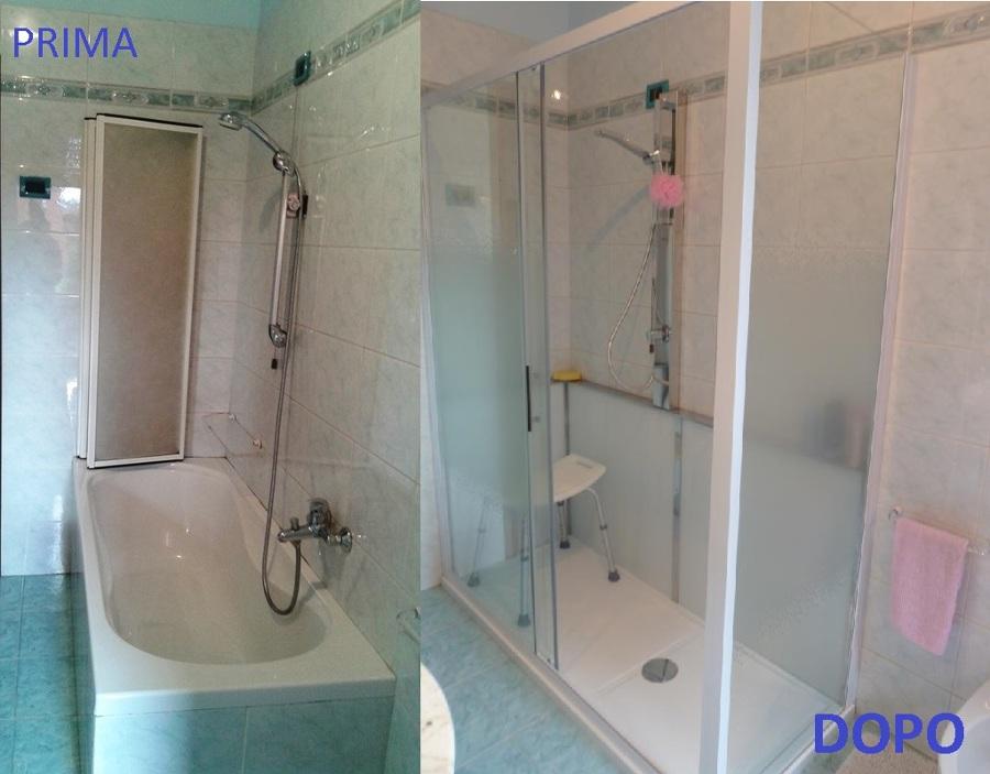 Progetto cambio vasca in doccia idee ristrutturazione bagni