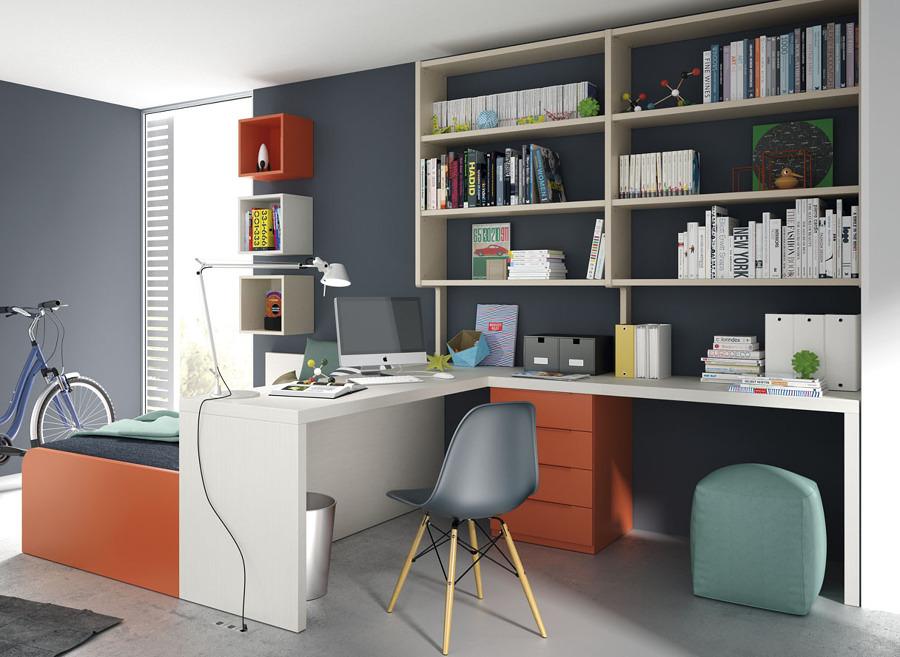 Arreda la camera di tuo figlio secondo la filosofia feng shui idee interior designer - Camera studio arredamento ...