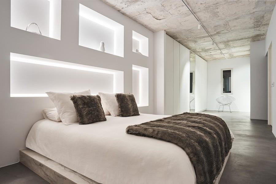 7 novit per la camera da letto a meno di 500 idee - Testata letto cartongesso ...