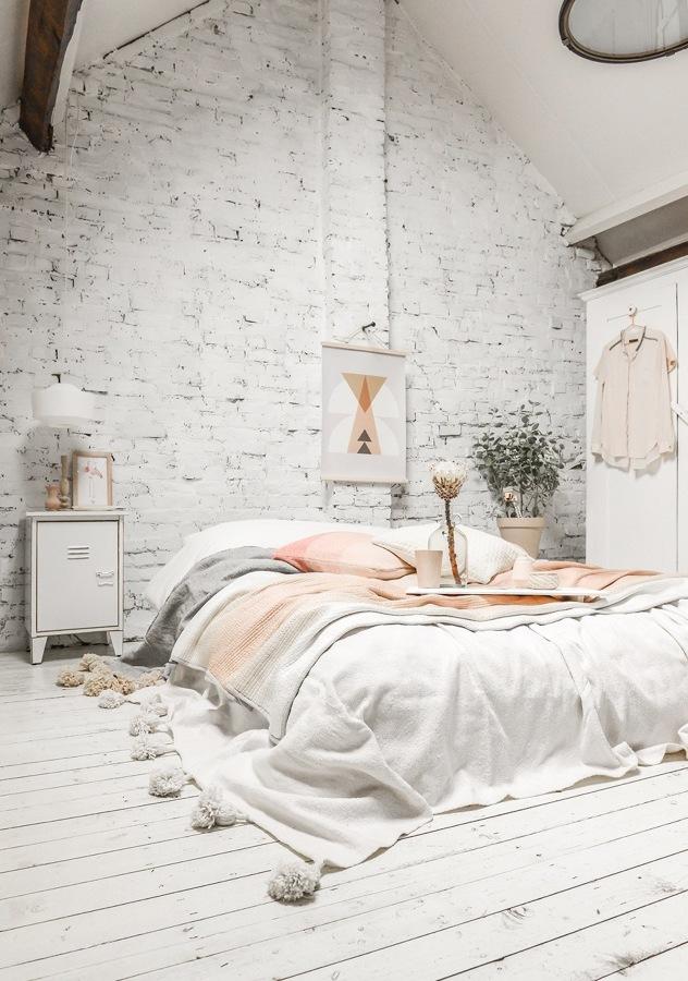 camera da letto bohemienne