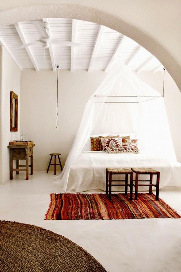 camera da letto boho
