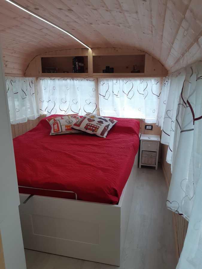 camera da letto bus