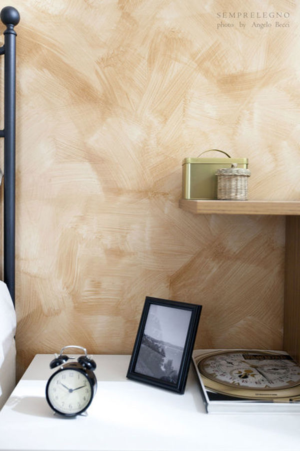Camera da letto con complementi d'arredo su misura
