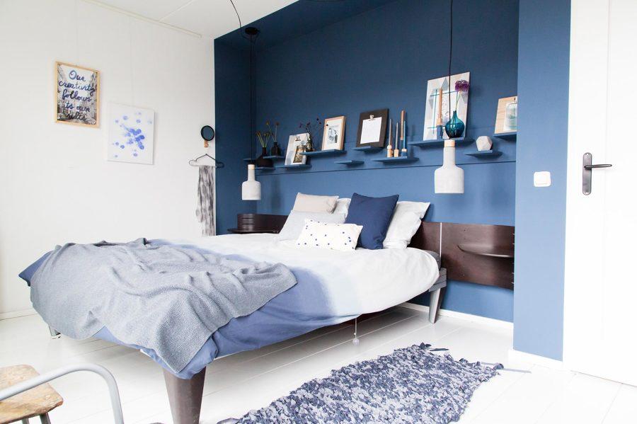 Foto: Camera da Letto con Parte Blu di Rossella Cristofaro #487082 ...