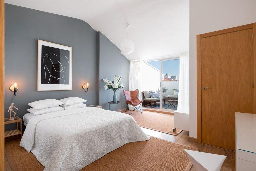 Camera da letto con terrazza