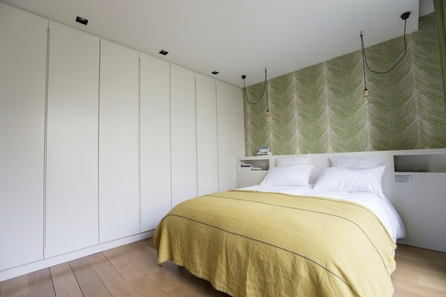 Armadi Per Camera Da Letto Su Misura : Foto camera da letto con testiera e armadio su misura di rossella