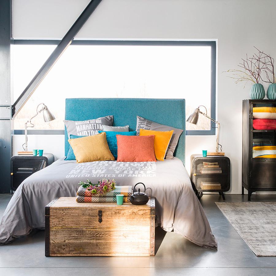 Foto camera da letto in stile industrial di claudia loiacono 585313 habitissimo - Camera da letto in stile ...