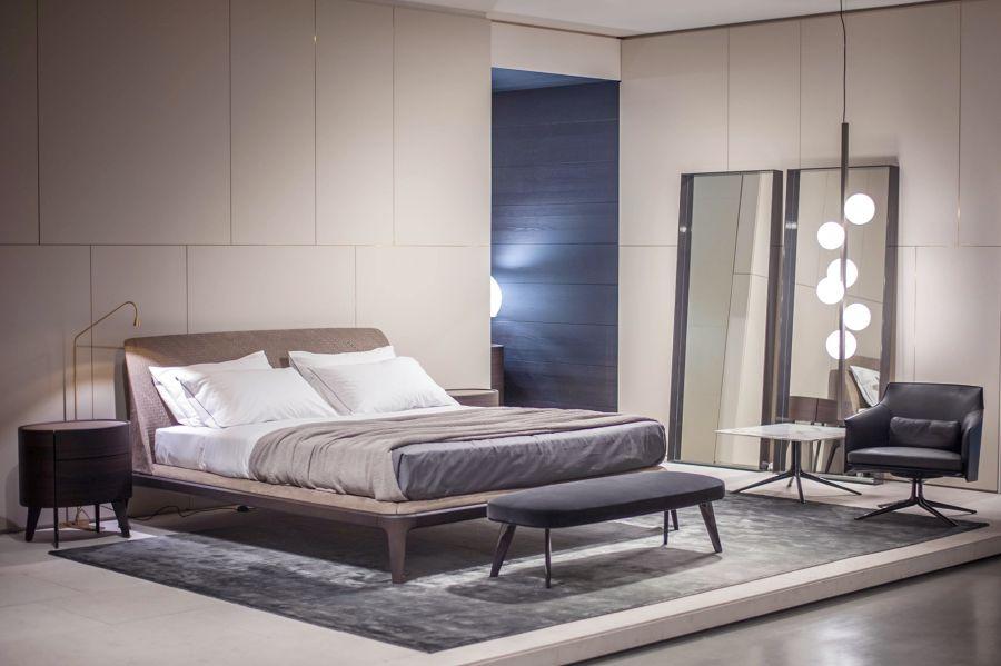 camera da letto irregolare