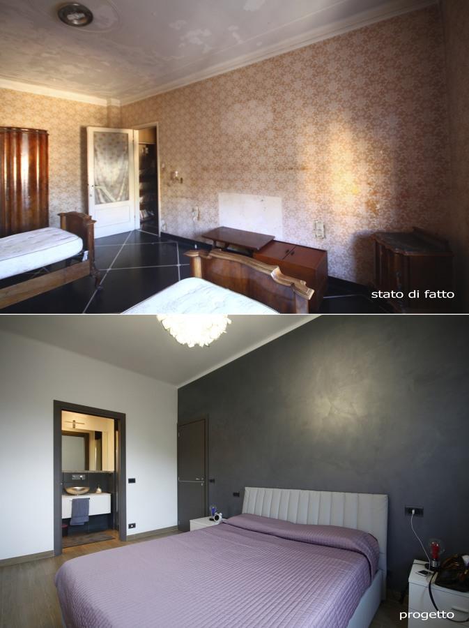 Foto: Camera da Letto Prima e Dopo di Architetto Andrea Orioli ...