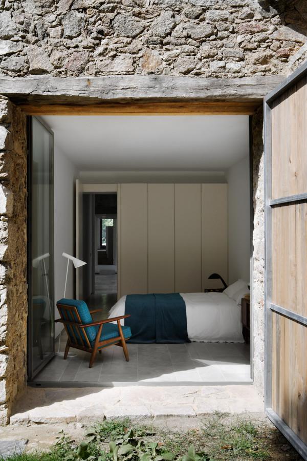 camera da letto rustico chic