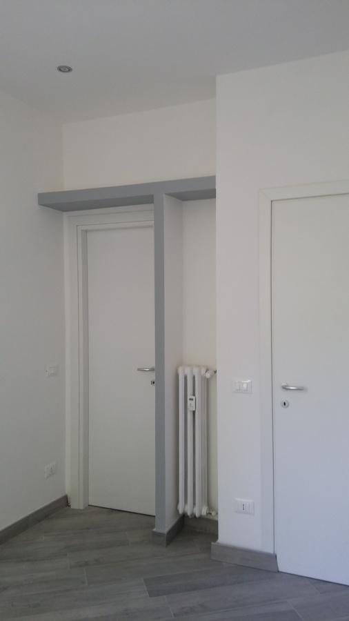Foto post operam camera da letto singola con cabina armadio di studio di architettura sabrina - Camera da letto con cabina armadio ...