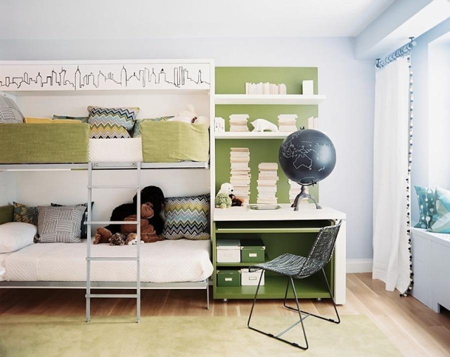 Poco spazio nella camera dei bambini i letti a castello for Bambini camera it