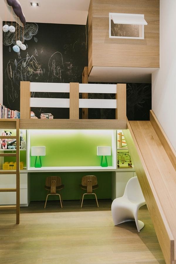 Foto camera per bambini con letto a castello di valeria del treste 326978 habitissimo - Camera per bambini usata ...