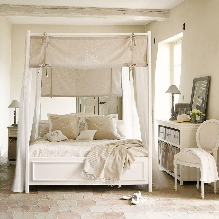 Arredare una camera da letto in stile country senza essere out idee interior designer - Camera letto country ...