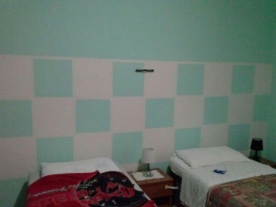 Progetto pareti colorate idee imbianchini - Pareti colorate bagno ...