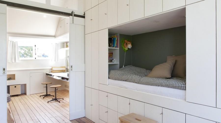 Arredare un sottotetto trucchi e consigli idee interior designer - Cameretta in mansarda ...