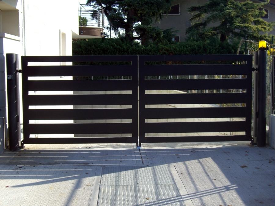 Foto cancello carraio di metalpoint 92293 habitissimo for Cancello scorrevole moderno