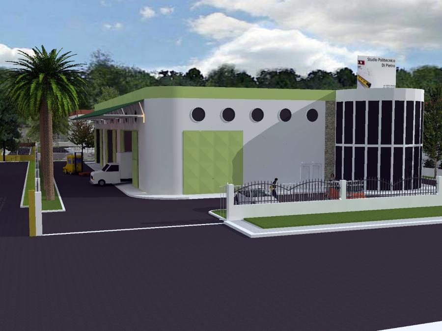 Progetto per capannone artigianale 900 mq idee for Piani di capannone moderni