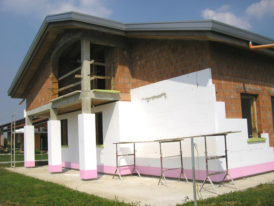 Isolamento a cappotto idee costruzione civile - Cappotto esterno casa ...