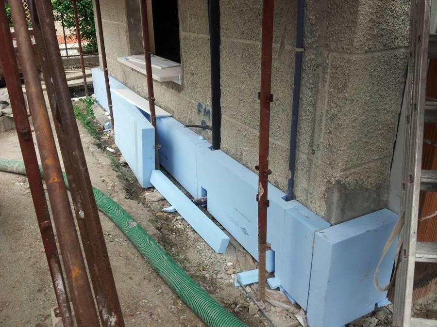 Foto cappotto termico esterno base muratura di costruzioni martini 121293 habitissimo - Cappotto esterno casa ...