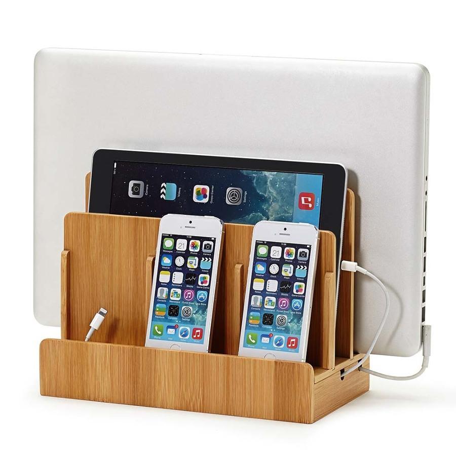 caricatore legno 334742 10 e più accessori fantasiosi per iPhone 4, 5, 6 e iPad
