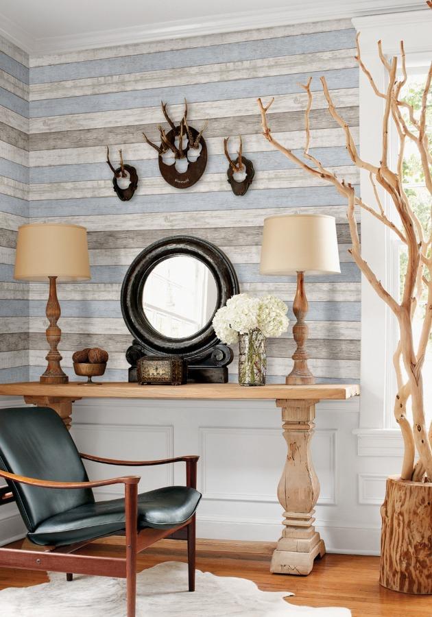 7 modi per arredare il tuo salotto con 100 euro o anche meno idee articoli decorazione for Ikea carta parati