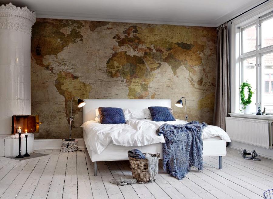 Esplora il mondo senza uscire di casa idee interior designer - Decorare le pareti ...