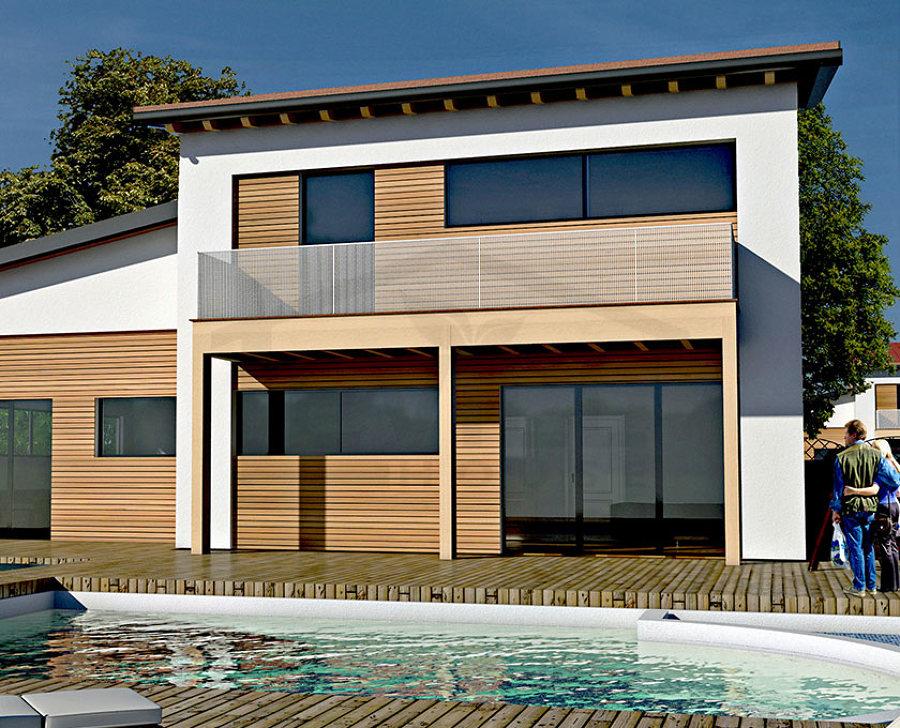 Casa moderna 206 mq idee costruzione case prefabbricate for Casa moderna 60 mq