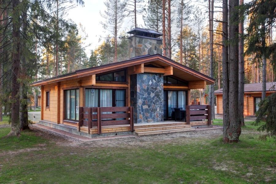 Casa in legno 74 mq idee costruzione case prefabbricate for Case prefabbricate 100 mq